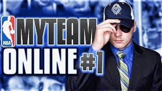 ULTIMATE NO MONEY SPENT SERIES! NBA 2K17 MYTEAM ONLINE #1