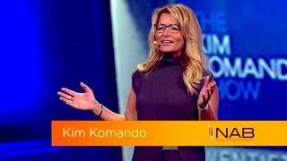 Kim Komando offers keynote speech at NAB 2016