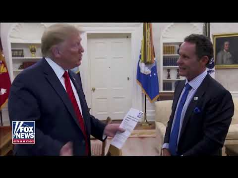 Interview: Brian Kilmeade of Fox News Interviews Donald Trump - June 22, 2020