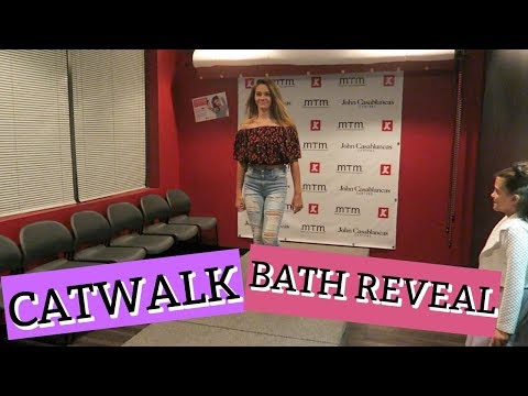 THE BEAT ON THE CATWALK! BATHROOM REMODEL REVEAL!