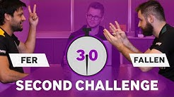 MIBR 30 Second Challenge with Fer and FalleN   CSGO Quiz