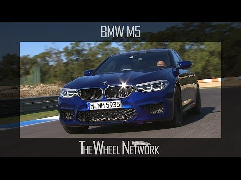 2018 BMW M5 - Road & Track Driving, Interior & Exterior Footage