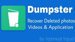 How To Recover | Deleted Photos Videos  & Applications | Dumpster screenshot 3