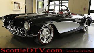 """1957 Chevrolet Corvette """"Family Affair""""  """"Kindig-It Design"""" The Grand National Roadster Show 2018"""