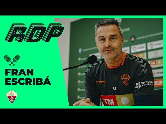 Elche CF Oficial - Directo - Fran Escribá