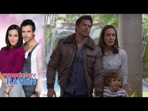 ¡Ramón logra rescatar a Diego! | Enamorándome de Ramón - Televisa