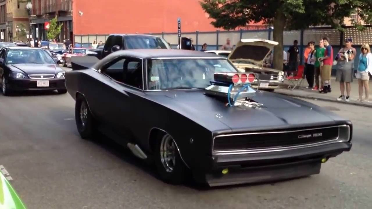 Fast And Furious 6 Cars Hd Wallpaper 1968 Dodge Charger Amerikan Modifiyeli Charger Youtube