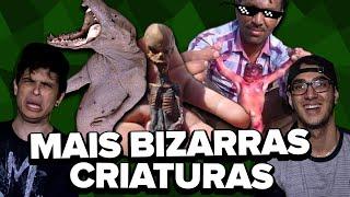 CRIATURAS BIZARRAS ENCONTRADAS PELO HOMEM