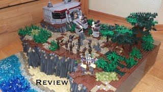 "Lego Star Wars Moc ""Undergroundbase on Onderon"" [Review]   500 Abonnenten-Special"