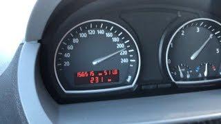2004 BMW Х3 3.0 д Е83 204 л. с. 0-210 км/год і максимальна швидкість механічна коробка передач