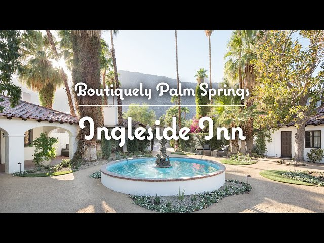 Ingleside Inn Hotel Tour