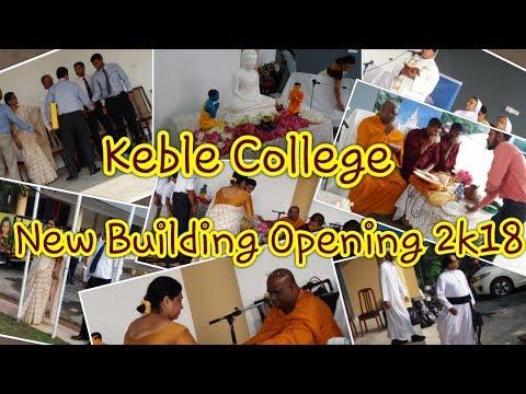 KEBLE COLLEGE NEW SCHOOL OPENING - 2018