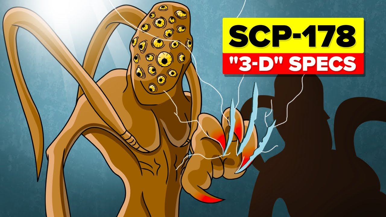 Download SCP-178 - 3-D Specs (SCP Animation)