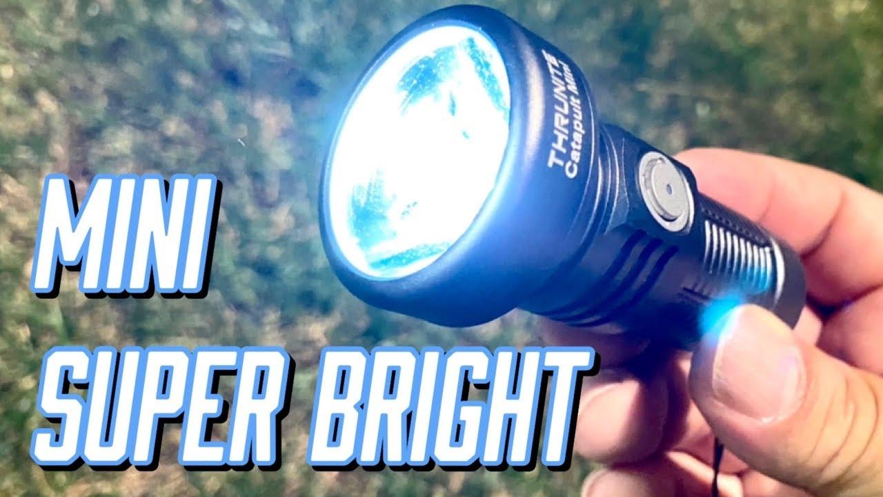 Super Bright ThruNite Catapult Mini Flashlight Review