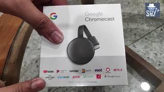 Google Chromecast 3rd Generation   Detailed Review   Unboxing Google Chromecast 2021   Hindi