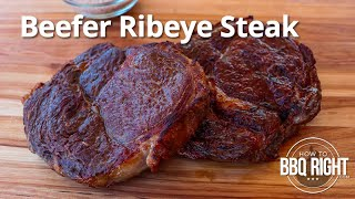 Beefer Ribeye Steak - Cooking Steaks on The Beefer