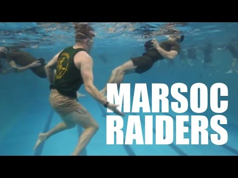What it takes to be a MARSOC Marine Raider