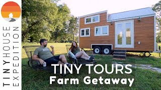 Gorgeous Tiny Houses with Farmhouse Flair Offer Chill Getaway