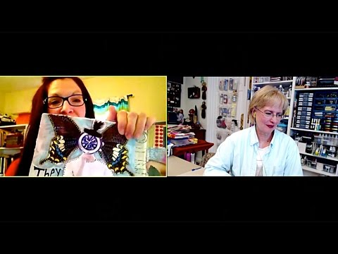Creative Chat with Dianne Fago (PackerDi) interview and Barb Owen - HowToGetCreative.com