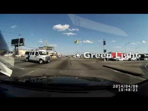 Dashcam: Crash w/ US Border Patrol Van - Flipped over!