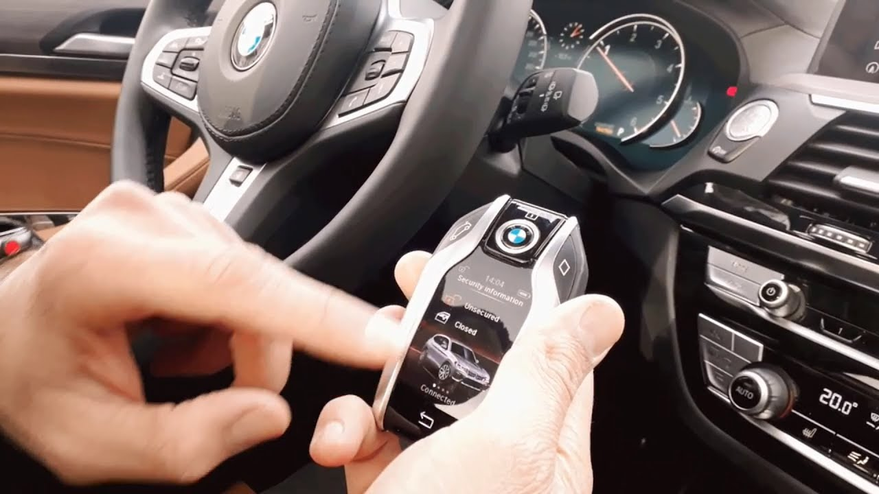 New Bmw X3 Display Key