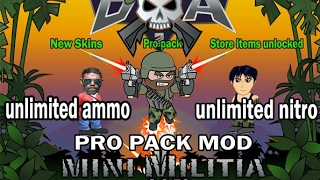 How To Hack Mini Militia ! No Root Needed !