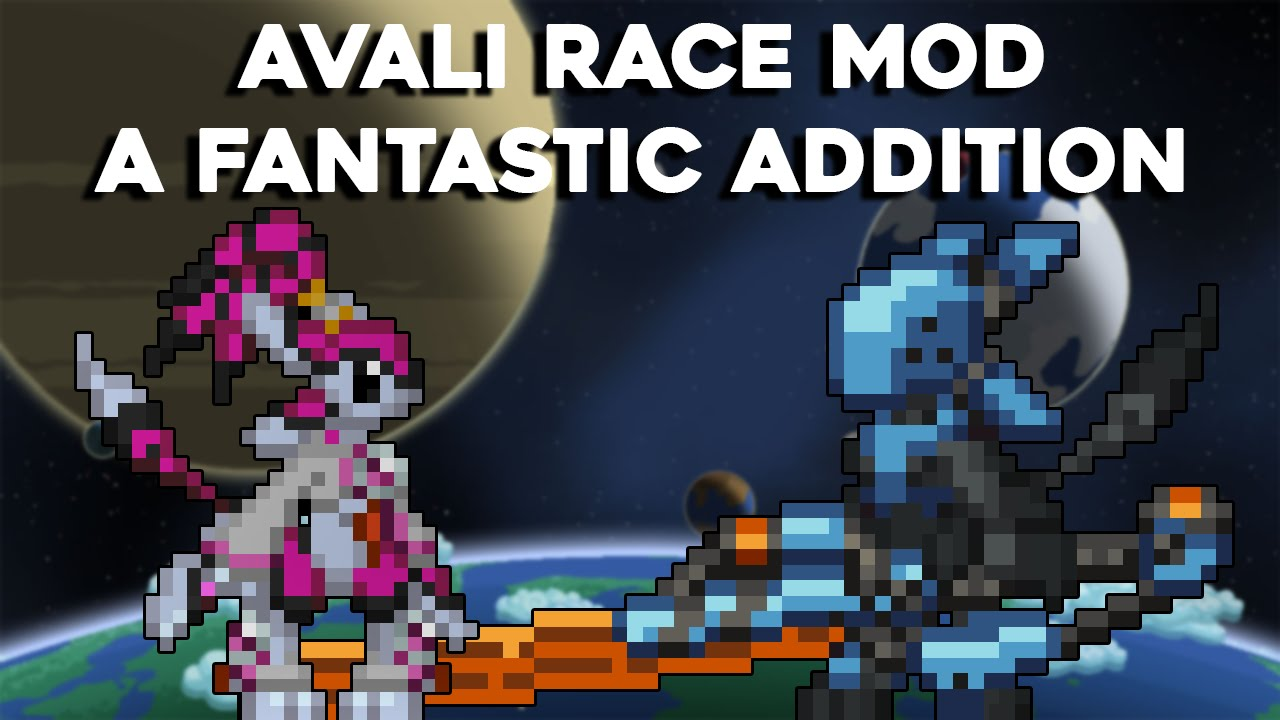 Avali Race , Massive Amounts of Content Within! - Starbound