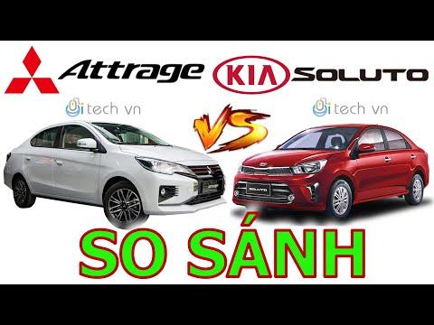 So sánh Mitsubishi Attrage 2021 và Kia Soluto 2021 #attrage2021 #soluto2021 #sosanhattragevasoluto