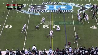 Northwestern Wildcats vs. Ohio State Buckeyes