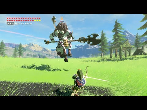 Zelda: BOTW (Twilight Link VS Silver Lynel) All Twilight Amiibo Weapons
