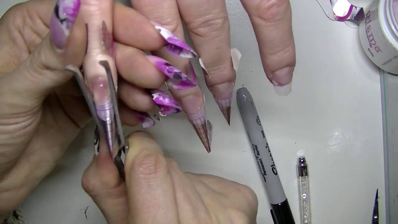 How To: Pinching a C-Curve wth Gel - YouTube