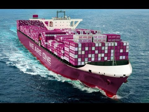 Top 10 Biggest Container Ships Floating at Ocean
