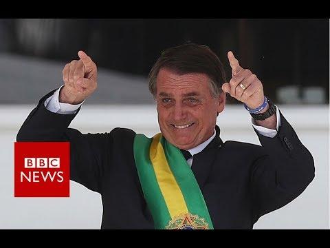 Brazil's new president takes office - BBC News