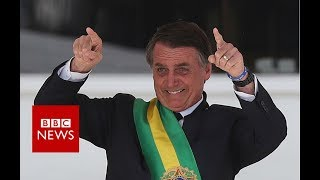 Brazil's new president takes office - BBC News