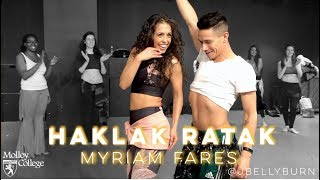 Myriam Fares  - Haklak Rahtak | Fusion Bellydance | @JBELLYBURN