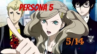 Persona 5 / 100% English Guide Part 33 : 5/14 - Lady Ann's Stalker !