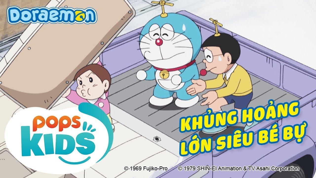 [S7] Doraemon Tập 348 - Khủng Hoảng Lớn Siêu Bé Bự - Hoạt Hình Tiếng Việt