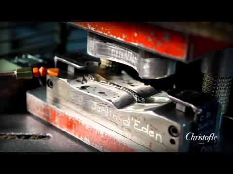The making of Christofle silverware