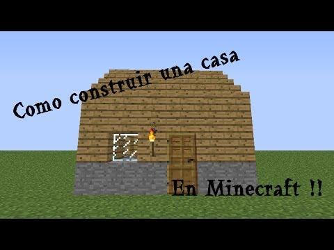 Como construir una casa en minecraft con pocos for Como hacer una casa clasica en minecraft