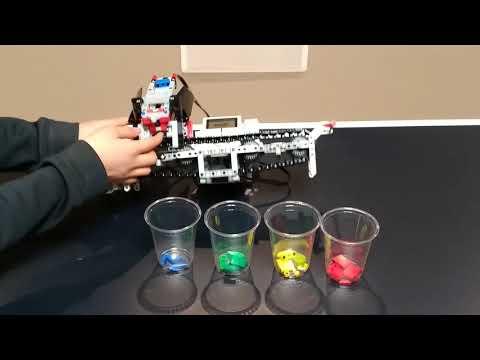 Lego Mindstorms EV3 Colour Sorter - YouTube
