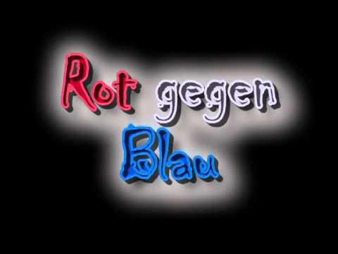 blau gegen rot