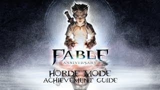 Fable Anniversary - Legendary Weapon Locations Part One - Horde Mode Achievement Guide