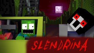 Monster School : SLENDRINA REVENGE - Minecraft animation