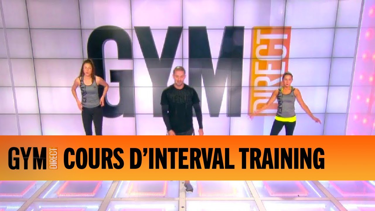 COURS D'INTERVAL TRAINING - GYM DIRECT