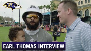 Earl Thomas: Pro Bowl Has Been Therapeutic | Baltimore Ravens