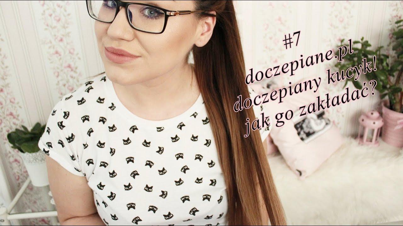 #7 doczepiane.pl Kucyk / koński ogon 55 cm 100g Jak zakładać? [anna koper]