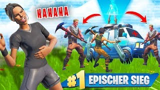 NOOBS TROLLEN mit RESPAWN VAN 😂 in Fortnite Battle Royale