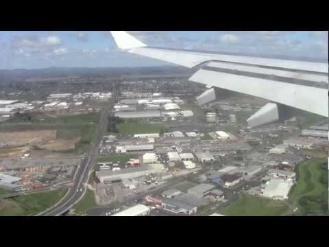 AMAZING SCENIC FLIGHT - SB410 - Nouméa to Auckland - Airbus A330-200