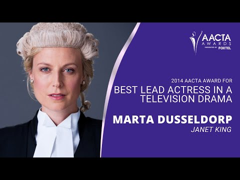 4th AACTA Awards - Best Lead Actress in a Television Drama
