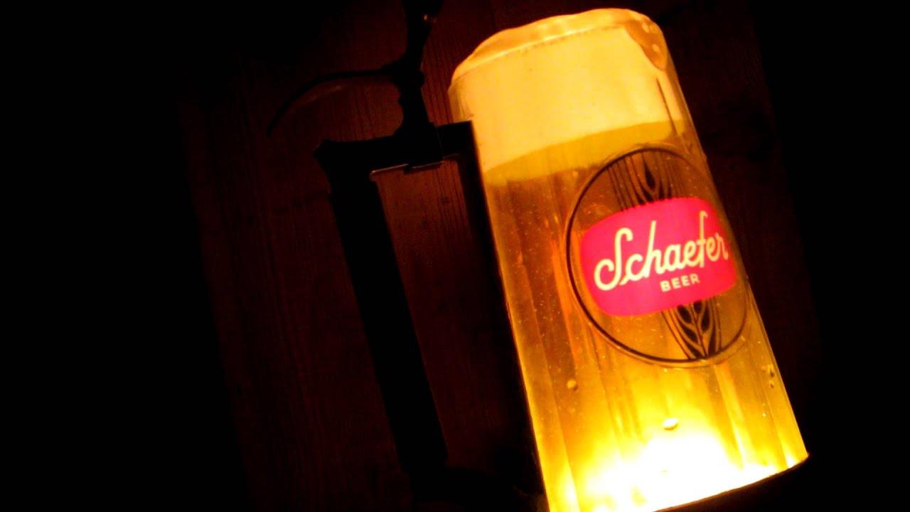 1960s1970s schaefer beer stein mug light up bubbler bar pub 1960s1970s schaefer beer stein mug light up bubbler bar pub tavern sign 2 mozeypictures Image collections